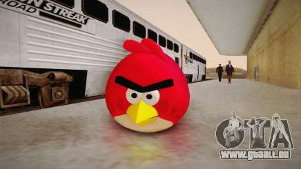 Red Bird from Angry Birds für GTA San Andreas