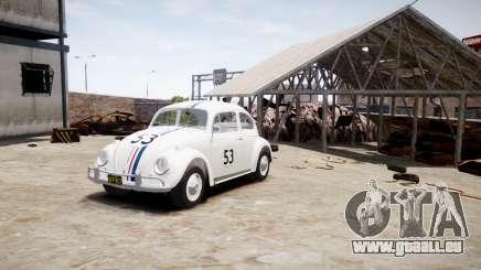 Volkswagen Beetle 1962 für GTA 4