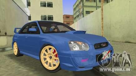 Subaru Impreza WRX STI 2005 für GTA Vice City