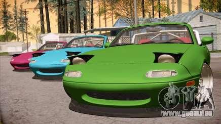 Mazda Miata Hellaflush pour GTA San Andreas