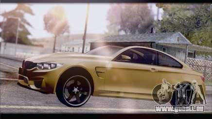 BMW M4 F80 Stanced pour GTA San Andreas