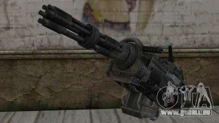 Minigun из Retombées pour GTA San Andreas