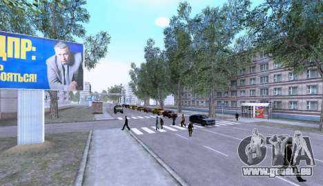 Russian Map 0.5 pour GTA San Andreas