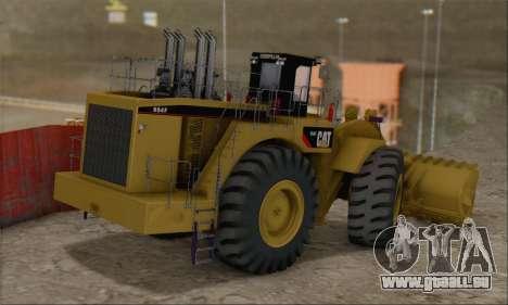Caterpillar 994F pour GTA San Andreas laissé vue