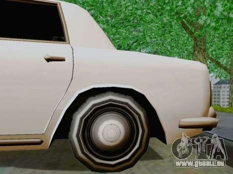 Stafford Limousine für GTA San Andreas Rückansicht