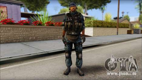 Sami GIGN from Soldier Front 2 für GTA San Andreas