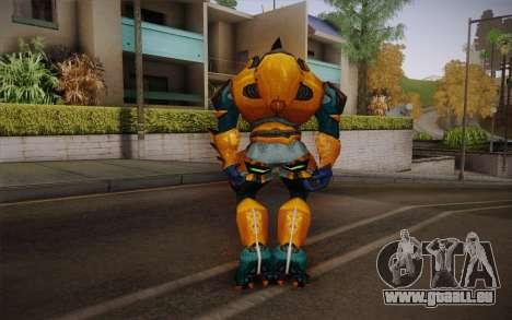 Gold Elite v2 pour GTA San Andreas deuxième écran