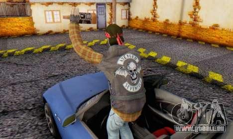 Biker A7X 2 für GTA San Andreas dritten Screenshot