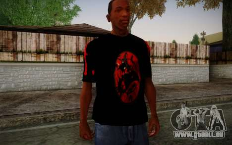 Uchiha Itachi T-Shirt pour GTA San Andreas