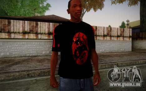 Uchiha Itachi T-Shirt für GTA San Andreas