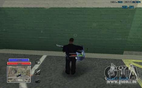 New C-HUD v.2 pour GTA San Andreas