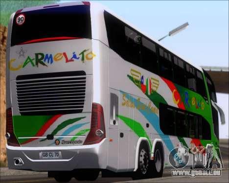 Marcopolo Paradiso G7 1800 DD 6x2 Scania K420 für GTA San Andreas
