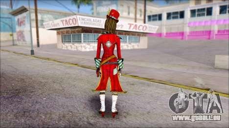 Moxxi from Borderlands pour GTA San Andreas deuxième écran