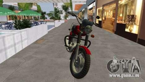 IZH Planeta 5 pour une vue GTA Vice City de la droite