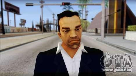 Toni Cipriani v3 für GTA San Andreas dritten Screenshot