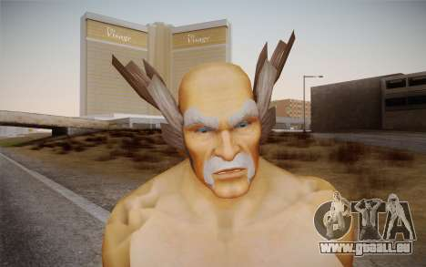 Heihachi Mishima v2 pour GTA San Andreas troisième écran