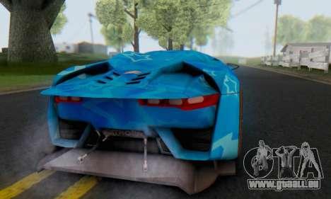 Citroen GT Blue Star pour GTA San Andreas vue de droite