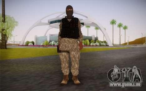 Fuerzas Especiales für GTA San Andreas