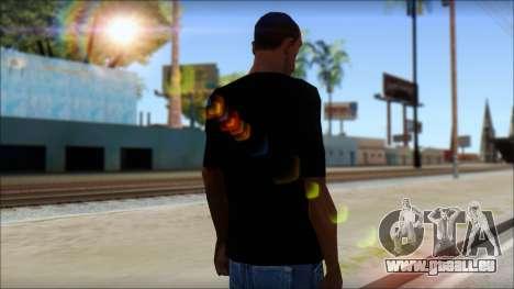 That 1970s Show T-Shirt Mod pour GTA San Andreas deuxième écran