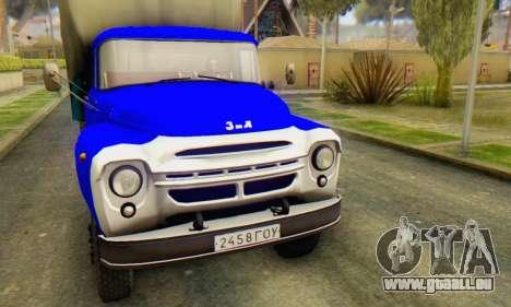 ZIL V pour GTA San Andreas laissé vue