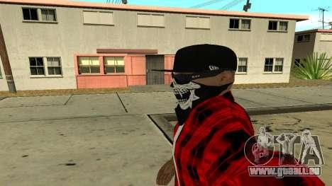 Selfie Mod pour GTA San Andreas quatrième écran