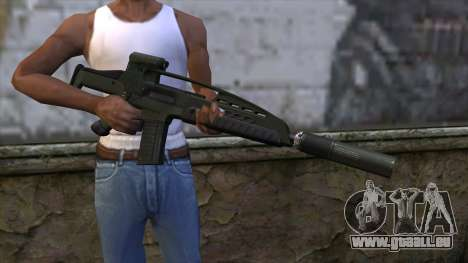 XM8 Assault Olive für GTA San Andreas dritten Screenshot