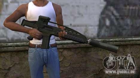 XM8 Assault Olive für GTA San Andreas dritten Screenshot