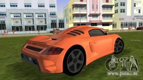 RUF CTR3 für GTA Vice City linke Ansicht
