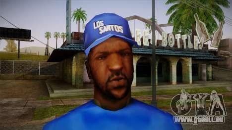 Sweet Blue Skin pour GTA San Andreas troisième écran