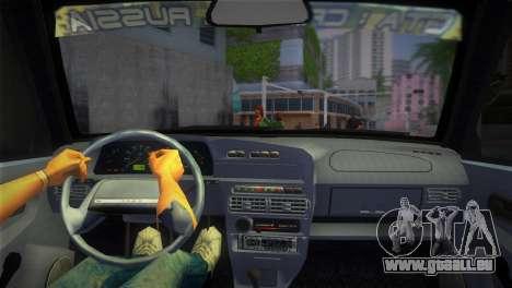 Die VAZ-2113 für GTA Vice City zurück linke Ansicht