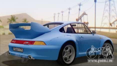 Porsche 911 GT2 (993) 1995 V1.0 SA Plate pour GTA San Andreas laissé vue