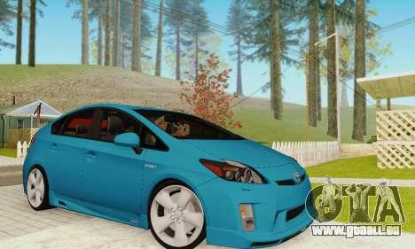 Toyota Prius Tunable pour GTA San Andreas
