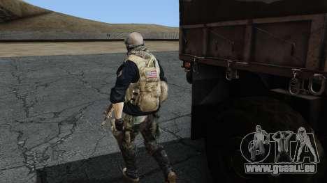 Army Ghost v2 pour GTA San Andreas troisième écran