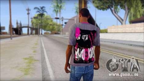 Emo T-Shirt pour GTA San Andreas deuxième écran