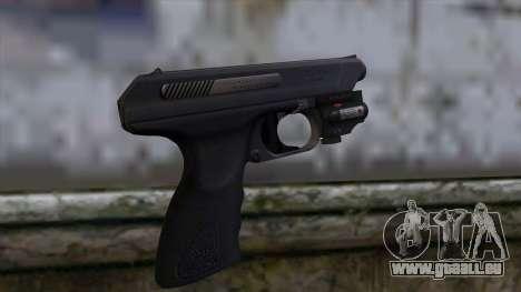 VP-70 Pistol from Resident Evil 6 v2 für GTA San Andreas zweiten Screenshot