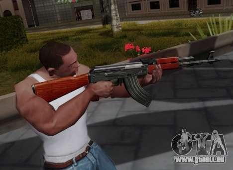Type 56 für GTA San Andreas dritten Screenshot