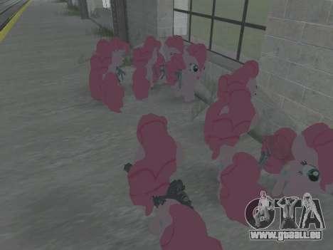Pinkie Pie pour GTA San Andreas quatrième écran