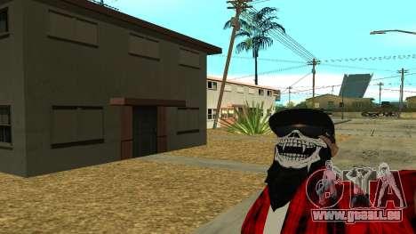 Selfie Mod pour GTA San Andreas deuxième écran