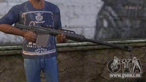 Heavy Sniper from GTA 5 für GTA San Andreas dritten Screenshot