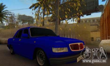GAZ 3110 Wolga LT für GTA San Andreas Rückansicht