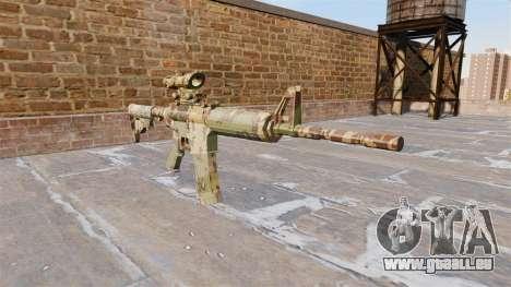 Automatic carbine ABER Guerilla-Camo für GTA 4