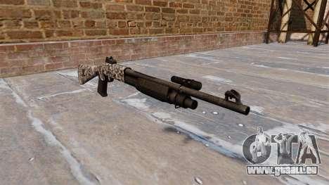 Ружье Benelli M3 Super 90 de diamant pour GTA 4
