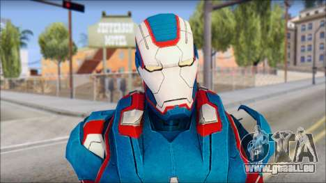 Iron Patriot für GTA San Andreas dritten Screenshot