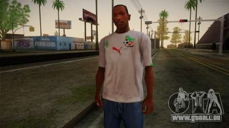 Algerian Football T-Shirt für GTA San Andreas