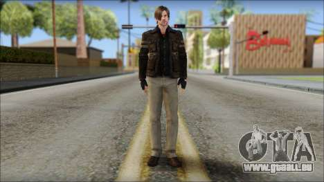 Leon Kennedy from Resident Evil 6 v4 pour GTA San Andreas