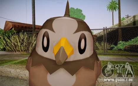 Starly from Pokemon für GTA San Andreas dritten Screenshot