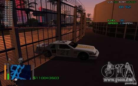 L'équitation à travers les murs pour GTA San Andreas deuxième écran