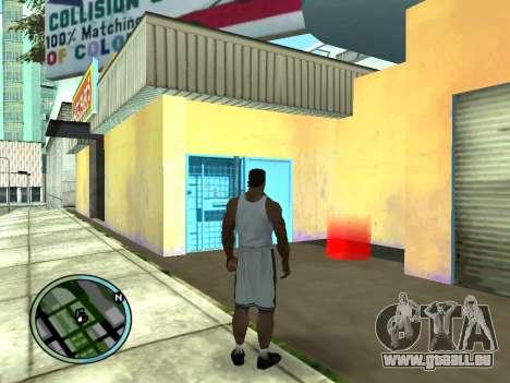 Évacuateur v1.0 pour GTA San Andreas deuxième écran