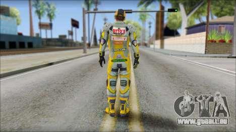 Piers Amarillo Gorra für GTA San Andreas zweiten Screenshot