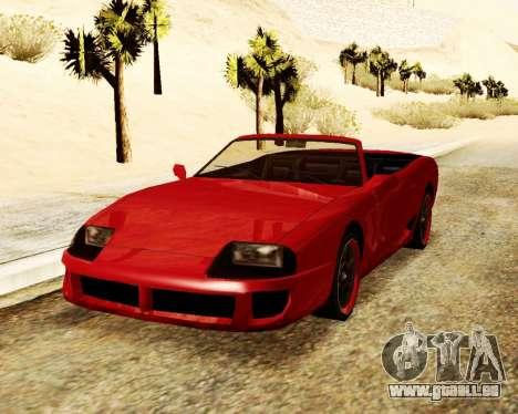 Bouffon Convertible pour GTA San Andreas